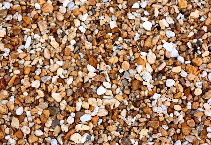 Декоративные песок и щебень